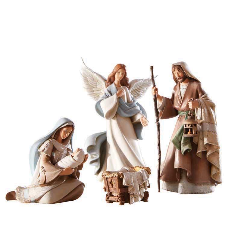 """3-1/4"""" H Figurine - Beth Nights Nat 3 Kings - Three Wise Men - Set of 3"""